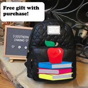 🎉HP🎉  NWT Betsey Johnson Teacher Apple Backpack